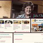 Julia Child presence on PBS.org